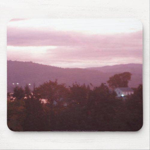 Sunrise Over the Columbia River #9 mousepad