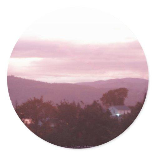 Sunrise Over the Columbia River #9 sticker