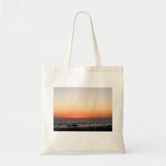 Sunset Budget Tote Bag