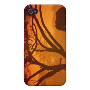 Sunset Elephant iPhone 4/4S Case