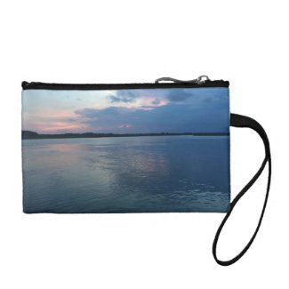 Sunset Key Coin Clutch