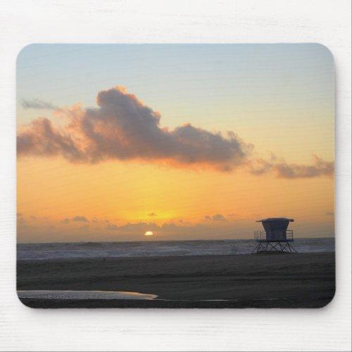 Sunset on the Beach Mousepad