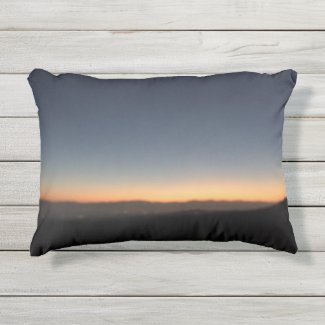 "Sunset Outdoor Accent Pillow 16"" x 12"""