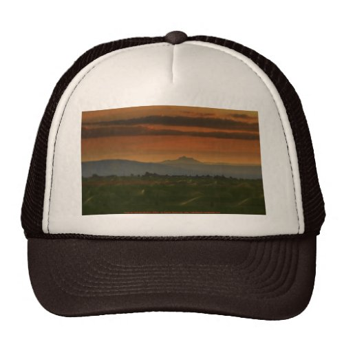 sunset sprinkers #2 hat