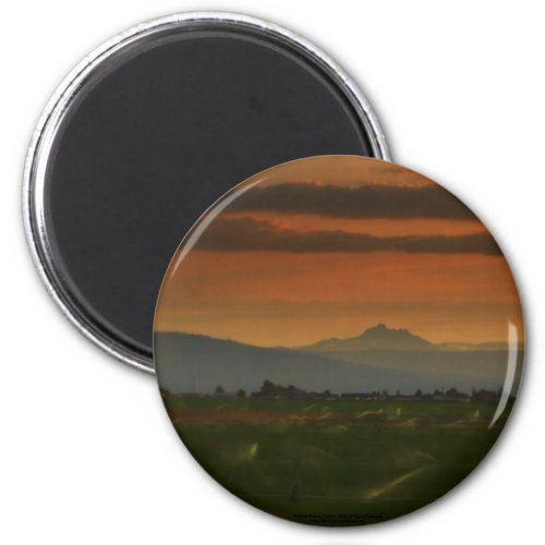 sunset sprinkers #2 magnet