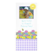Sunshine Birthday Party Invitation