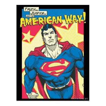 Superman 29 postcard