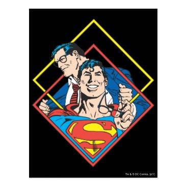 Superman/Clark Kent Postcard