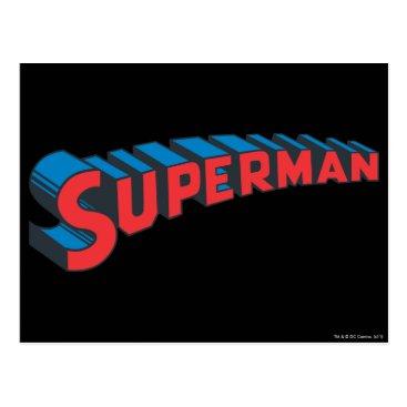 Superman | Classic Logo Postcard