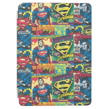 Superman Comic Panels iPad Air Cover