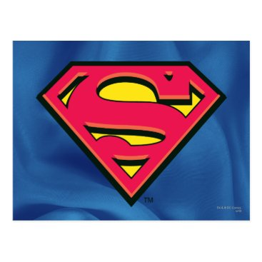 Superman S-Shield | Classic Logo Postcard