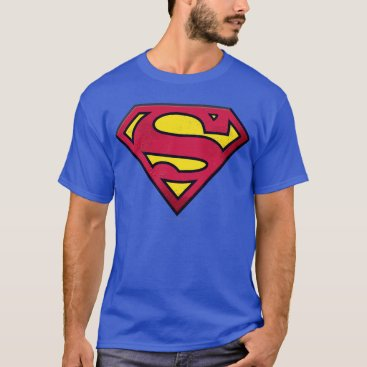 Superman S-Shield | Dirt Logo T-Shirt