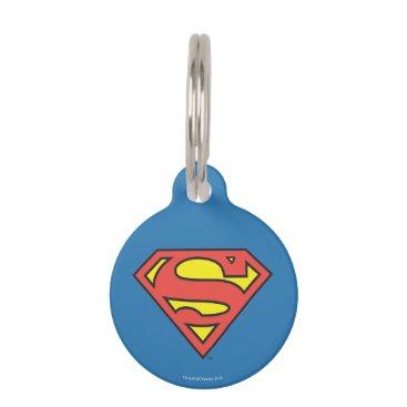 Superman S-Shield   Superman Logo Pet Tag
