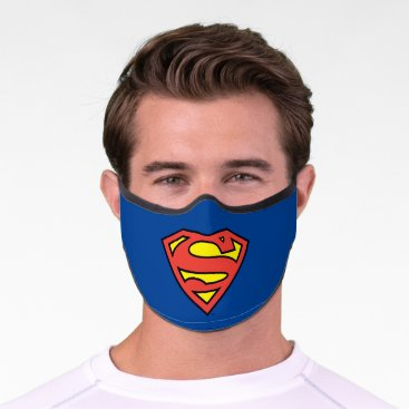 Superman S-Shield | Superman Logo Premium Face Mask