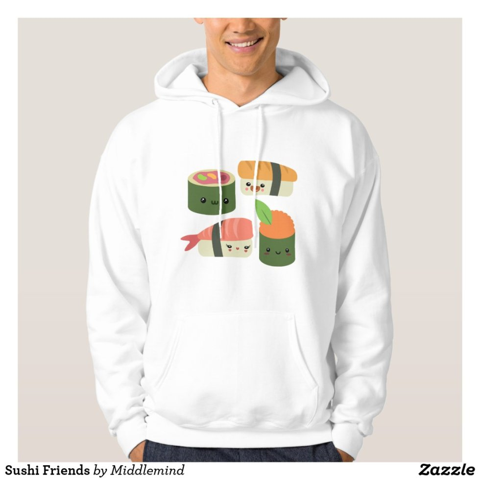 Sushi Friends Hoodie