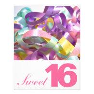 Sweet Sixteen Birthday Party Invitations