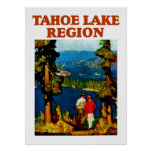 Tahoe Lake Region Poster