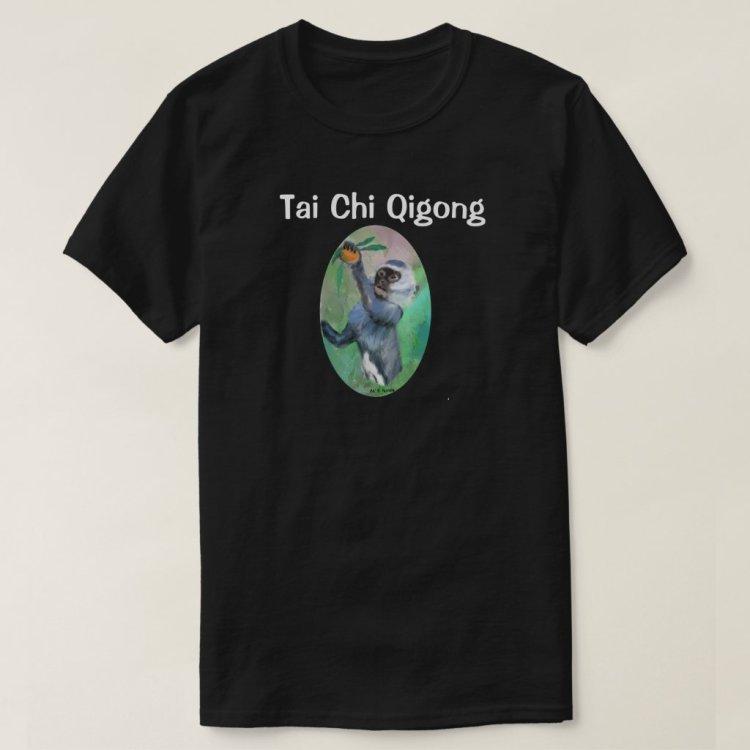 Tai Chi Qigong Monkey T-Shirt