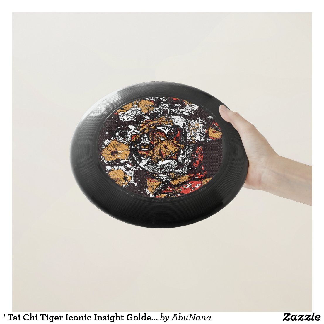 ' Tai Chi Tiger Iconic Insight Golden Browns Wham-O Frisbee