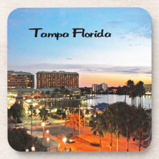 Tampa Florida Beverage Coasters