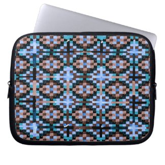 Tapestry 1 Zippered Neoprene Electronics Case by CricketDiane 2012