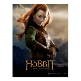 Tauriel Character Poster 2 Post Cards