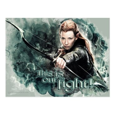 TAURIEL™ - This Is Our Fight Postcard