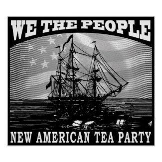 Tax Tea Party print