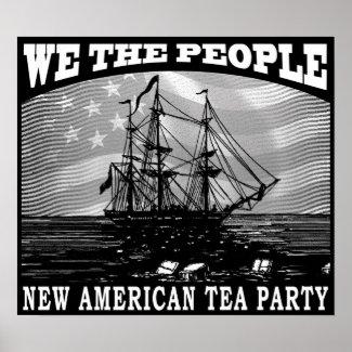 Tax Tea Party print
