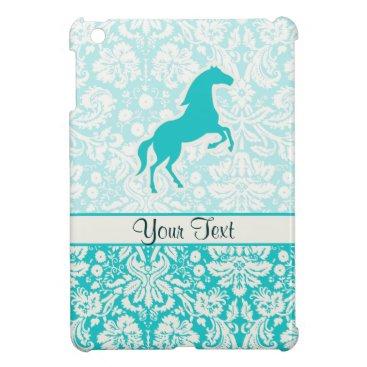 Teal Horse Case For The iPad Mini