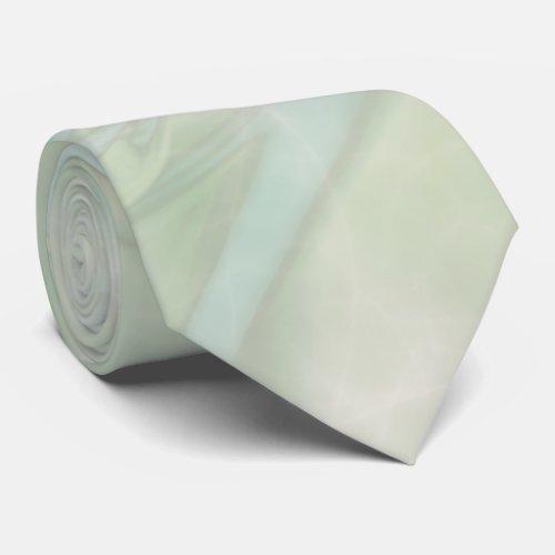 Teal Marble Swirl Tie