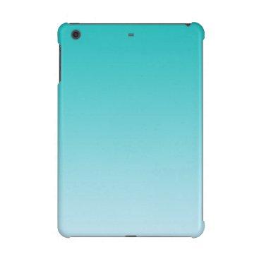 Teal Ombre iPad Mini Case
