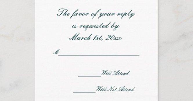 Teal Red Wedding Invitation Postcard