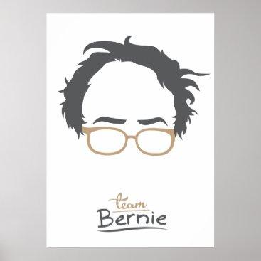 Team Bernie - Bernie Sanders for President Poster