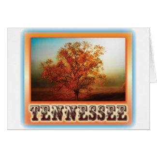 Tennessee Fall Tree Scene Card