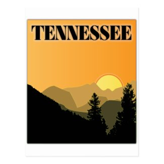Tennessee Mountains Post Card