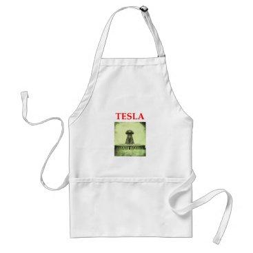 tesla adult apron