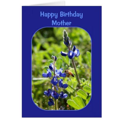 Texas Bluebonnets Mother Happy Birthday