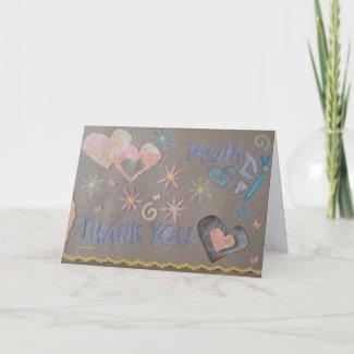 Thank You - Mom - Scrapbook 1 - Seasons Card card