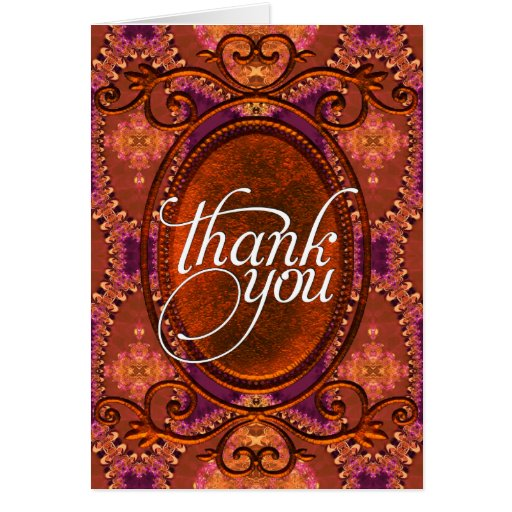 Thank You | Rustic Bohemian Decor  Cards