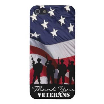 Thank You Veterans Cover For iPhone SE/5/5s