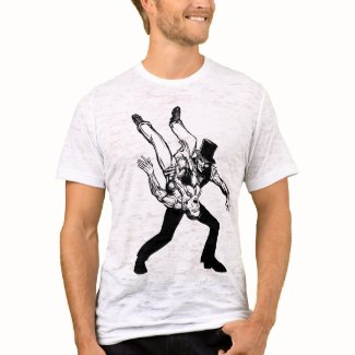 The Abraham Lincoln Chokeslam Light shirt