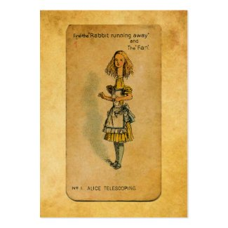 The Alice Collection: Alice Telescoping Pack Of Chubby Business Cards