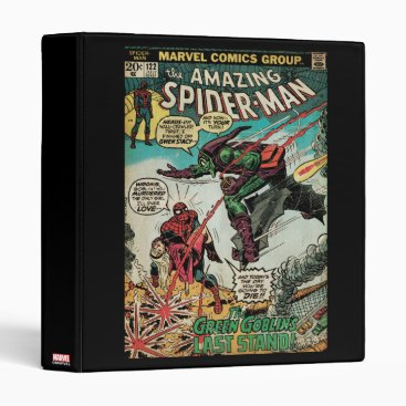The Amazing Spider-Man Comic #122 3 Ring Binder
