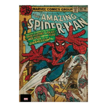 The Amazing Spider-Man Comic #186 Poster