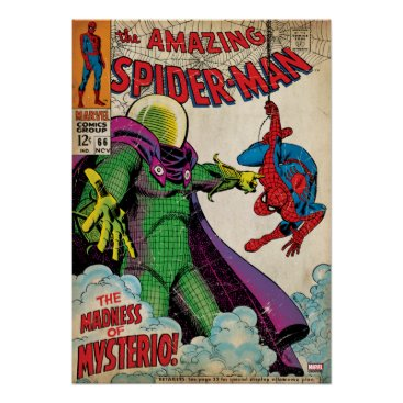 The Amazing Spider-Man Comic #66 Poster