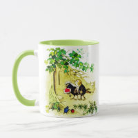 The Bird Wedding Mug