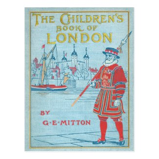 The Children's Book of London Postcard Postcard