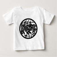 The Chinese Zodiac - The Pig Baby T-Shirt