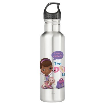The Doc Is In 2 Stainless Steel Water Bottle